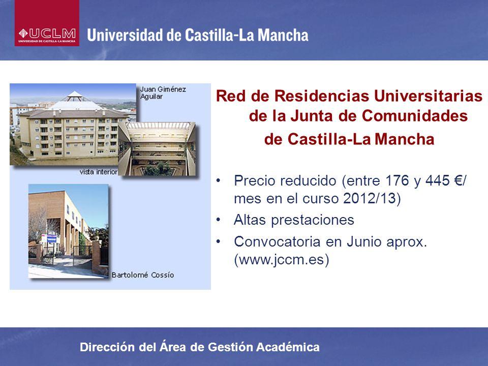 Red de Residencias Universitarias de la Junta de Comunidades