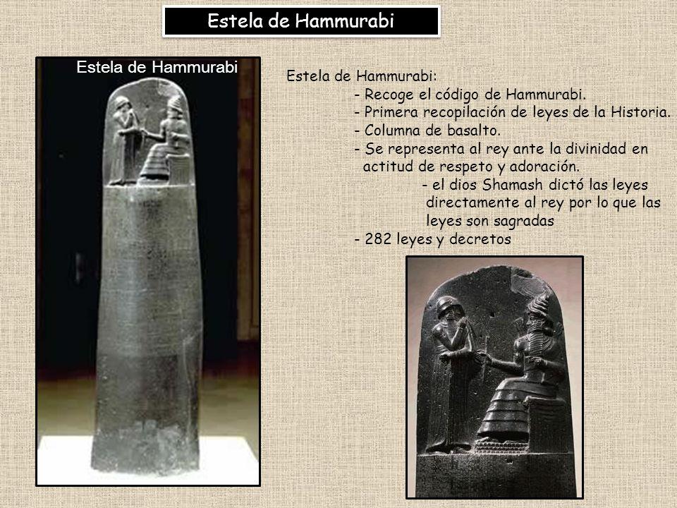 Estela de Hammurabi Estela de Hammurabi