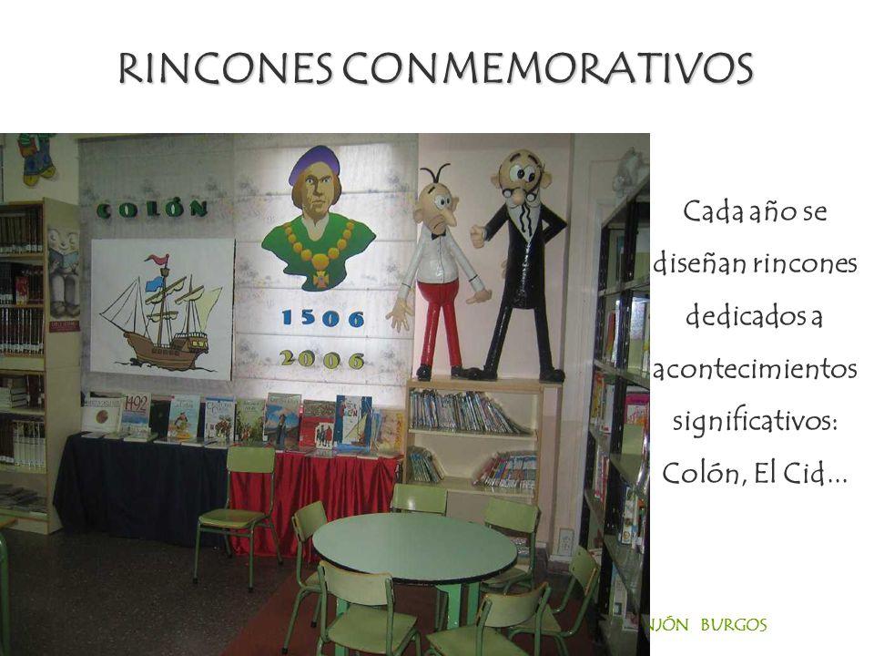 RINCONES CONMEMORATIVOS