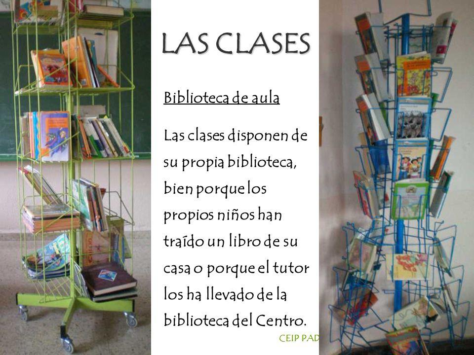 LAS CLASES Biblioteca de aula
