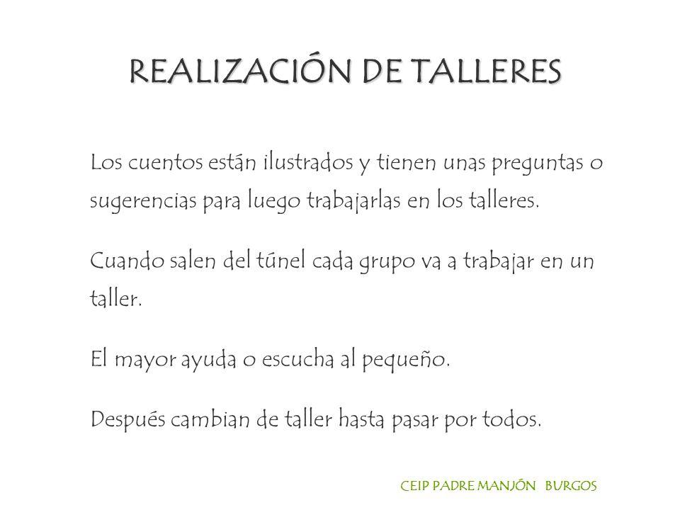 REALIZACIÓN DE TALLERES