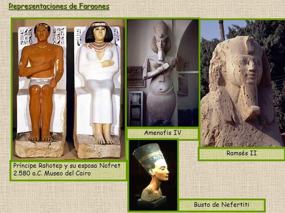 Representaciones de Faraones