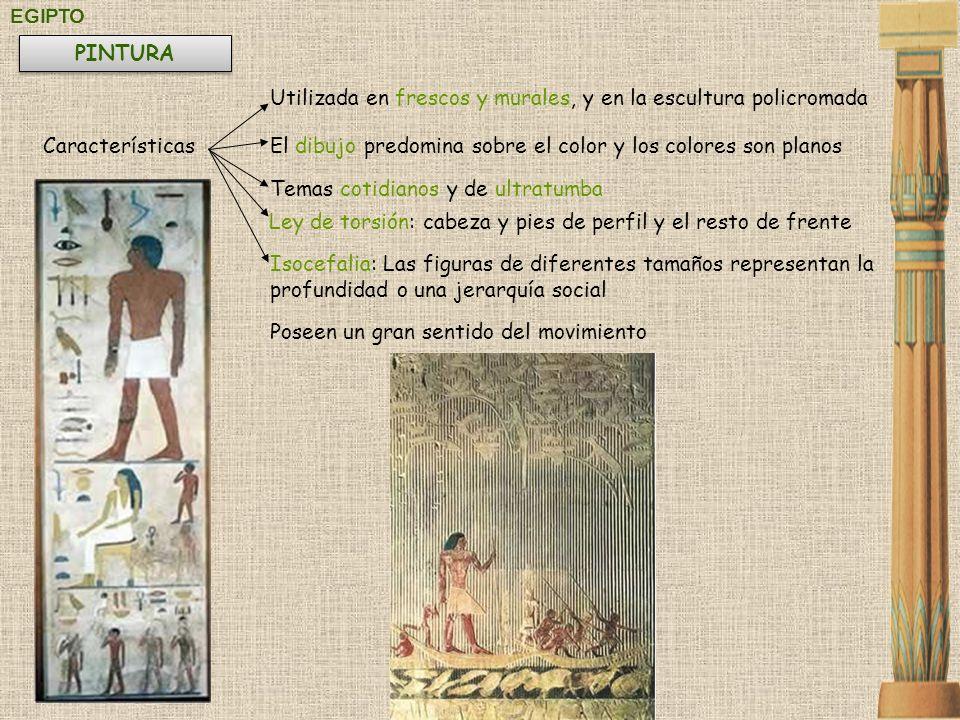 Utilizada en frescos y murales, y en la escultura policromada