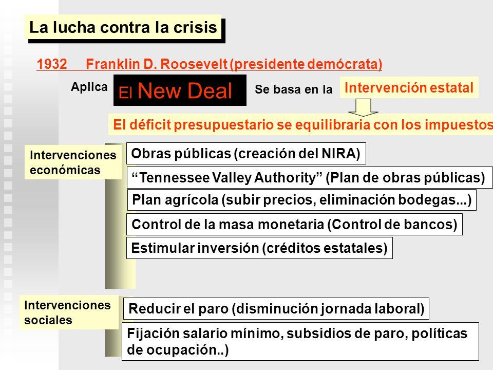 La lucha contra la crisis