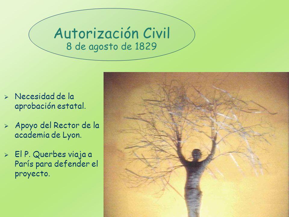 Autorización Civil 8 de agosto de 1829