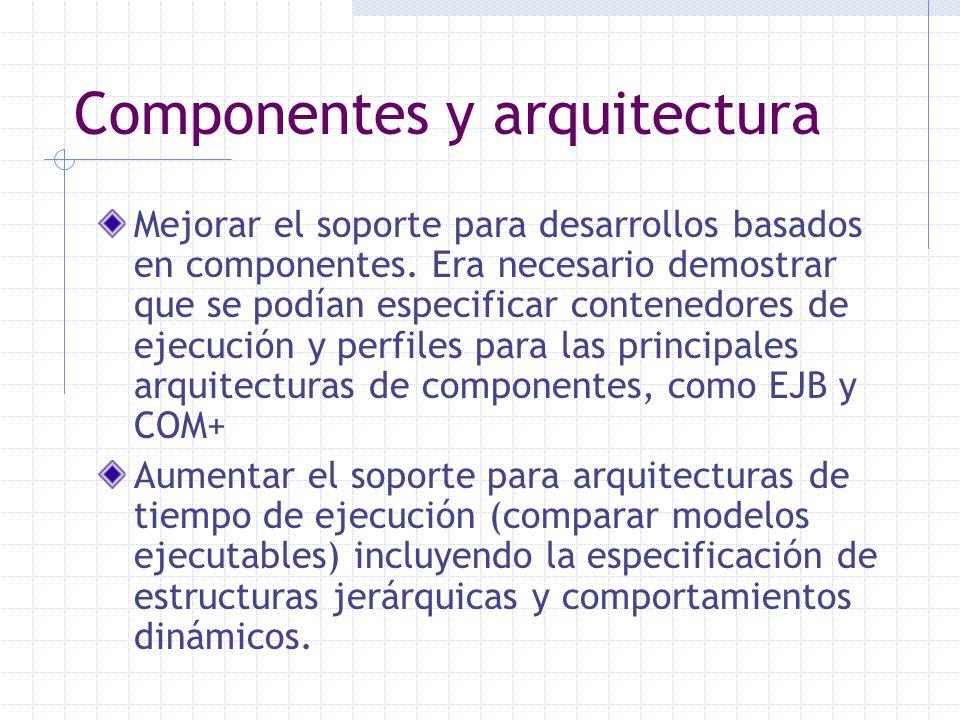 Componentes y arquitectura
