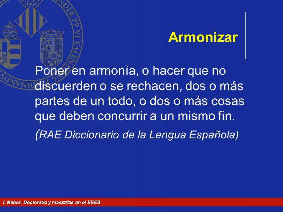 Armonizar
