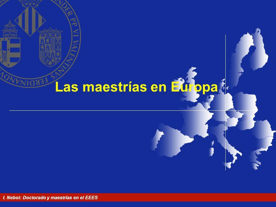 Las maestrías en Europa