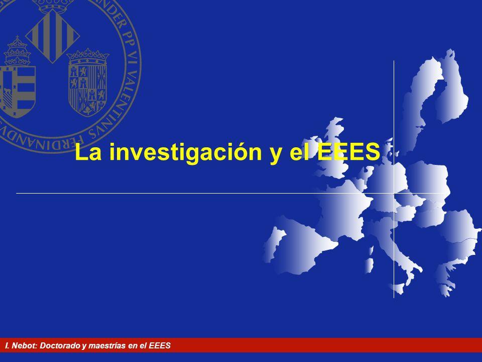 La investigación y el EEES