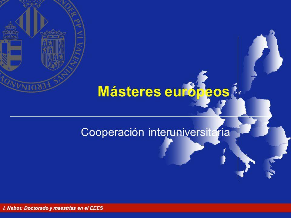 Cooperación interuniversitaria