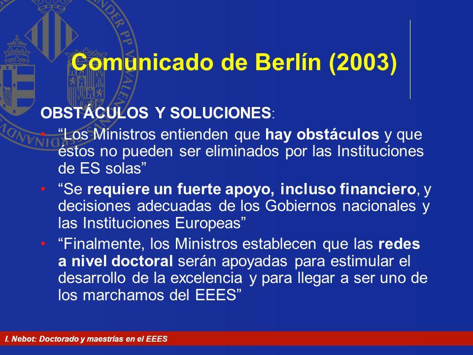 Comunicado de Berlín (2003)