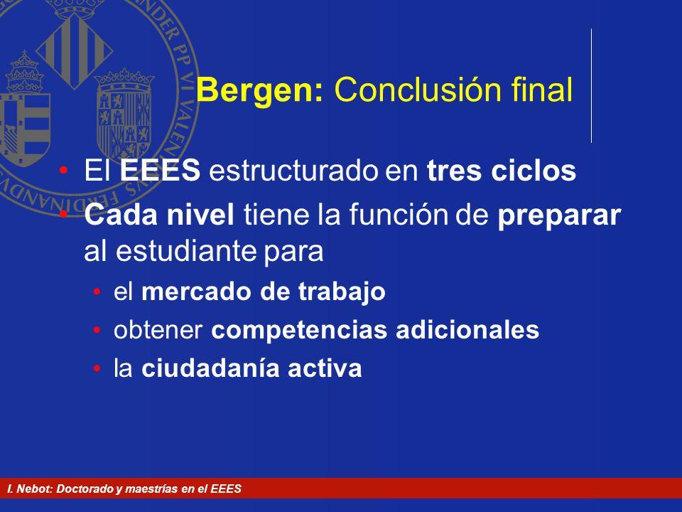 Bergen: Conclusión final