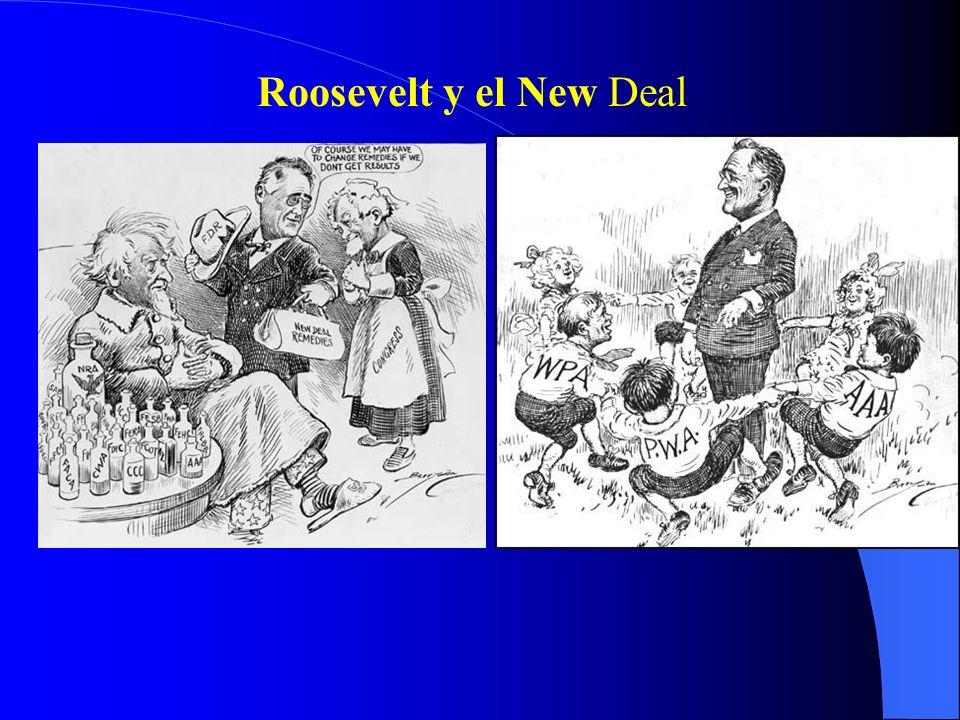 Roosevelt y el New Deal