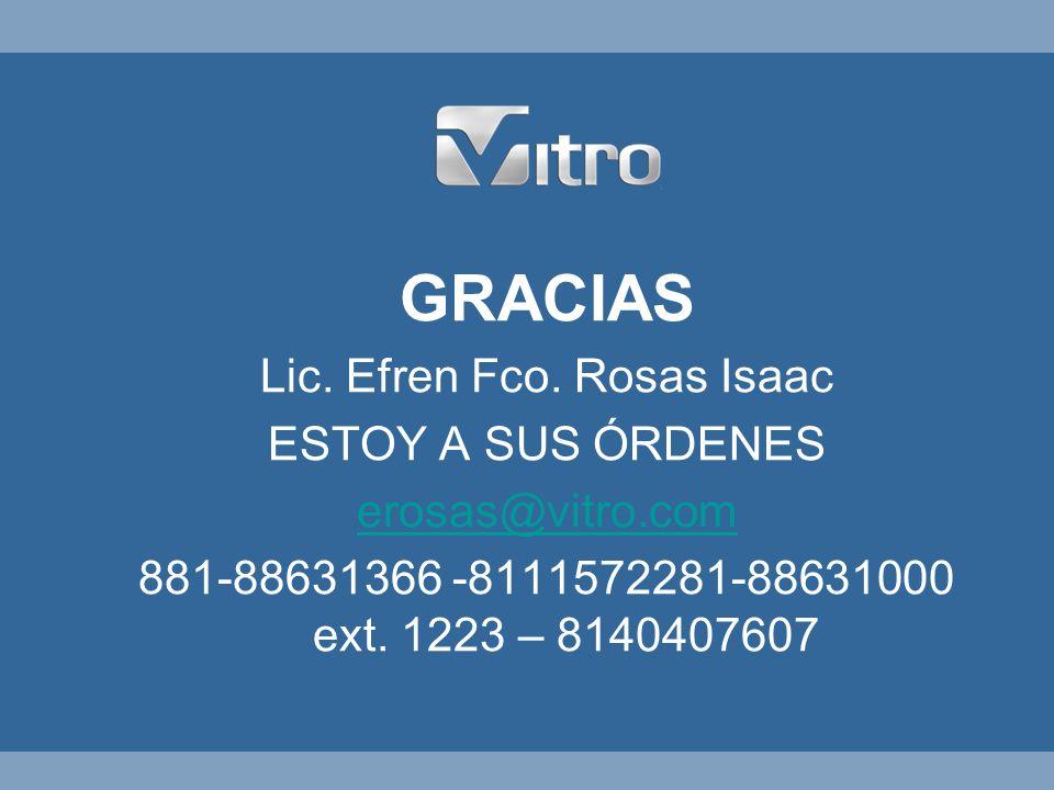 Lic. Efren Fco. Rosas Isaac