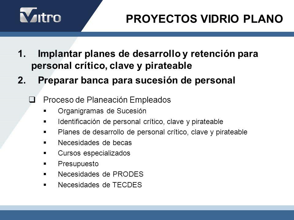 PROYECTOS VIDRIO PLANO