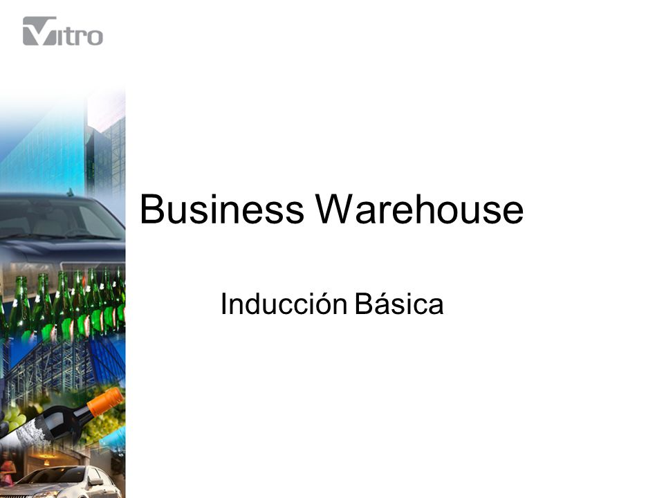 Business Warehouse Inducción Básica