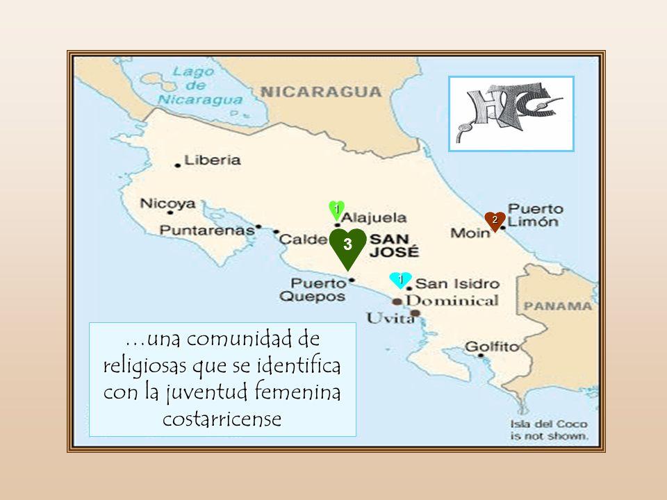 1 2 3 1 …una comunidad de religiosas que se identifica con la juventud femenina costarricense