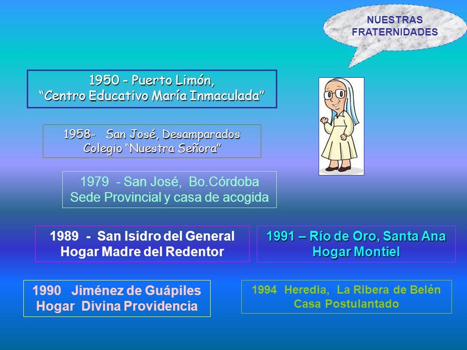 1950 - Puerto Limón, Centro Educativo María Inmaculada