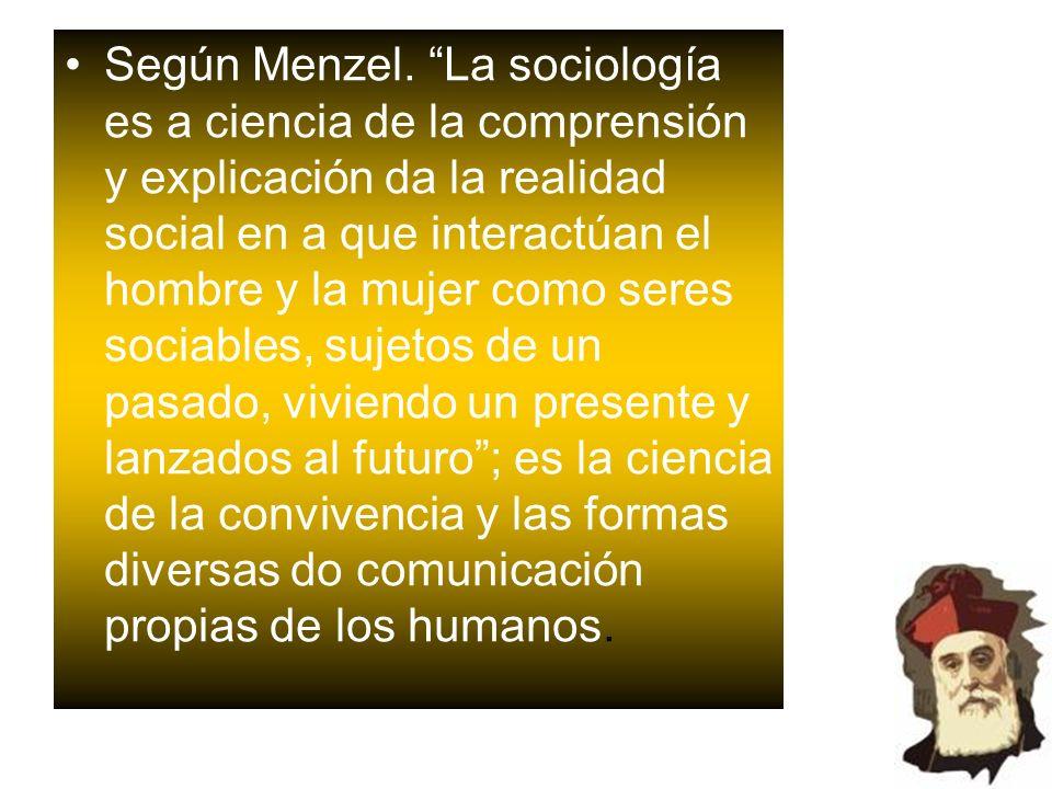 Según Menzel.