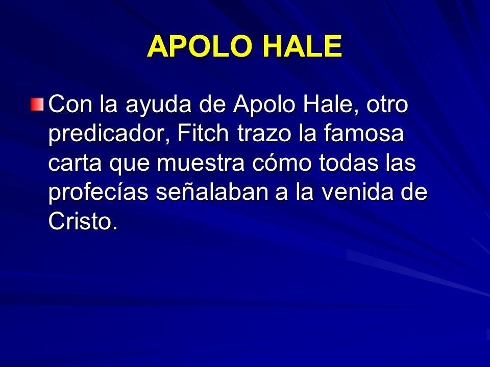 APOLO HALE