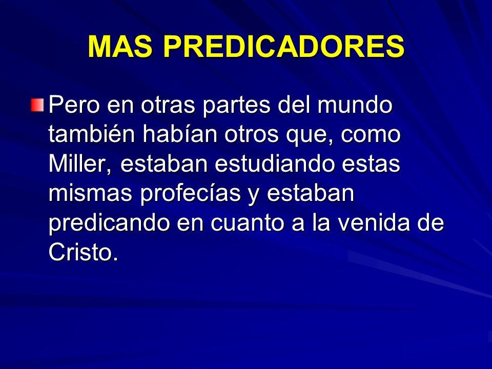 MAS PREDICADORES