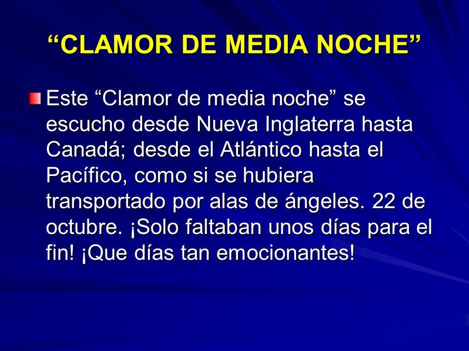 CLAMOR DE MEDIA NOCHE