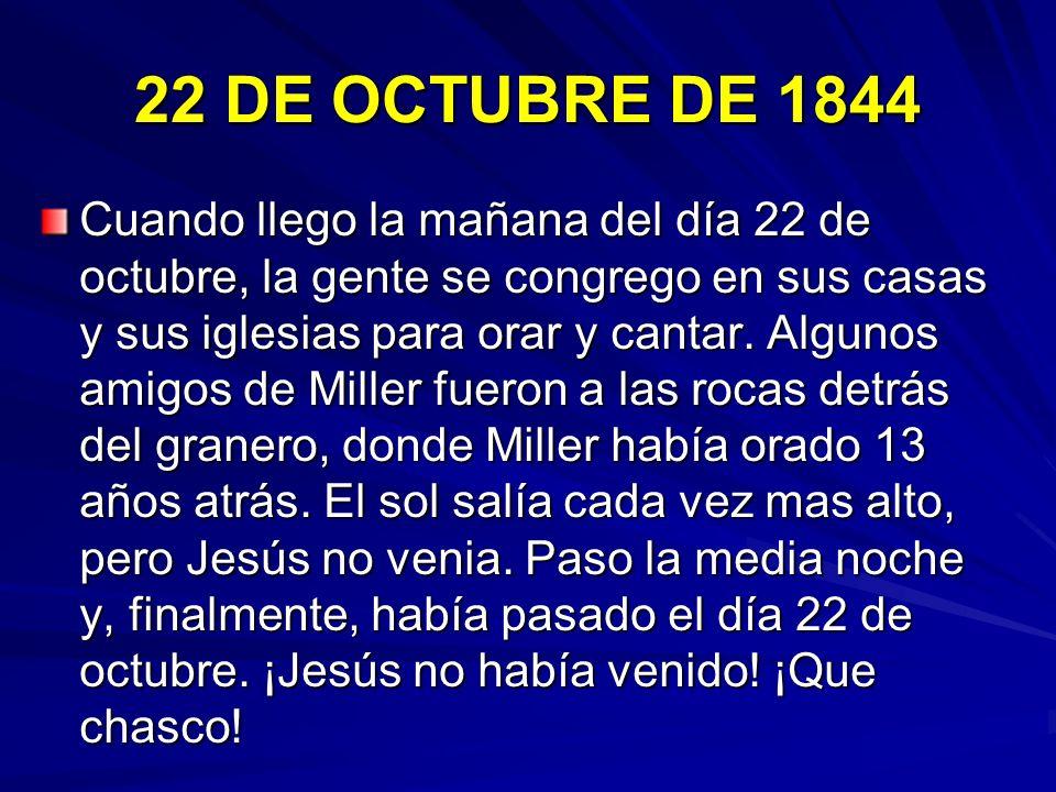 22 DE OCTUBRE DE 1844