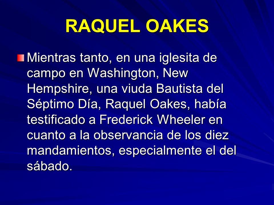 RAQUEL OAKES