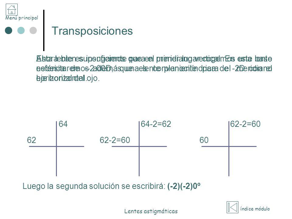 Transposiciones