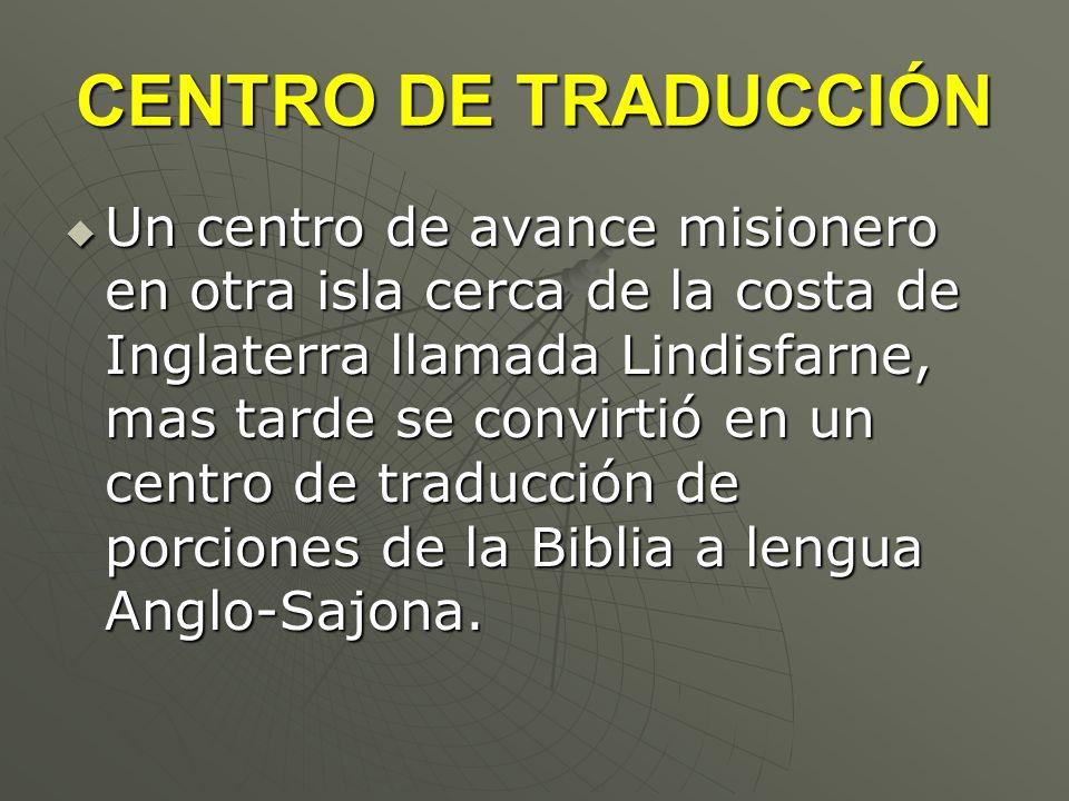 CENTRO DE TRADUCCIÓN