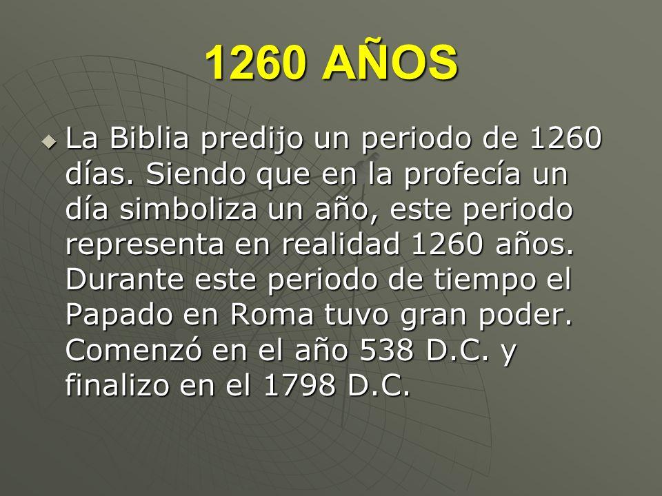 1260 AÑOS