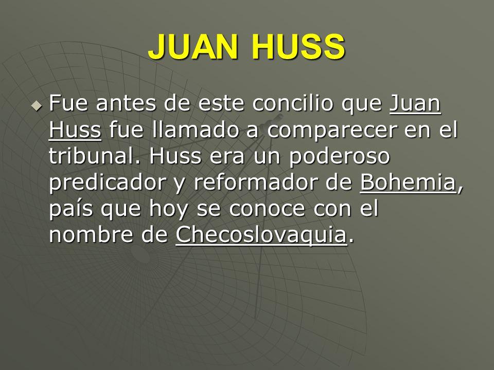 JUAN HUSS