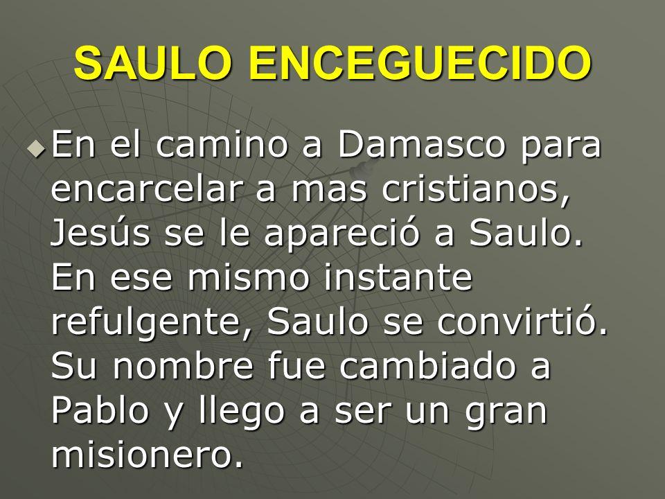 SAULO ENCEGUECIDO
