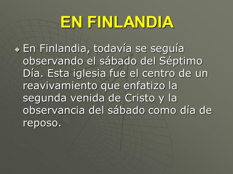 EN FINLANDIA