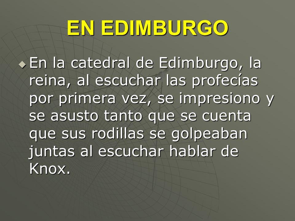 EN EDIMBURGO