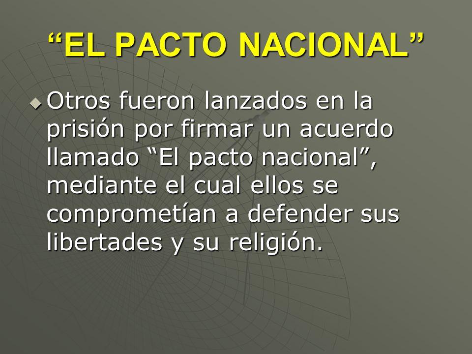 EL PACTO NACIONAL