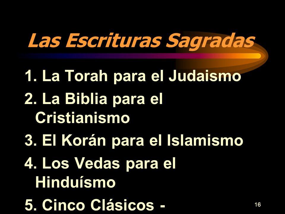 Las Escrituras Sagradas
