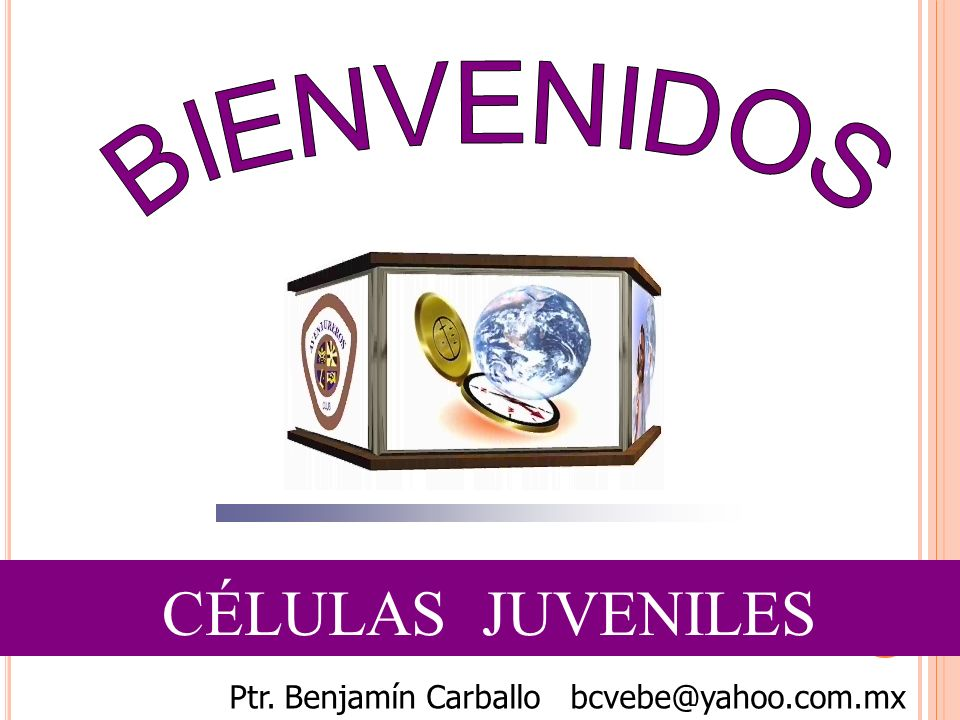 Ptr. Benjamín Carballo bcvebe@yahoo.com.mx