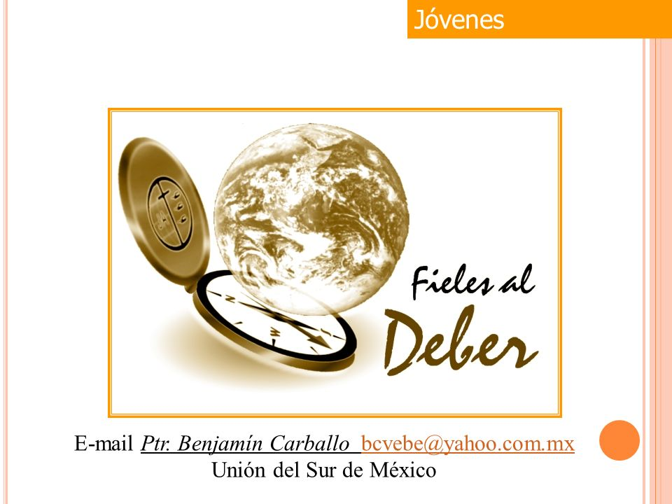 E-mail Ptr. Benjamín Carballo bcvebe@yahoo.com.mx