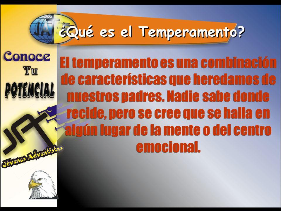 ¿Qué es el Temperamento