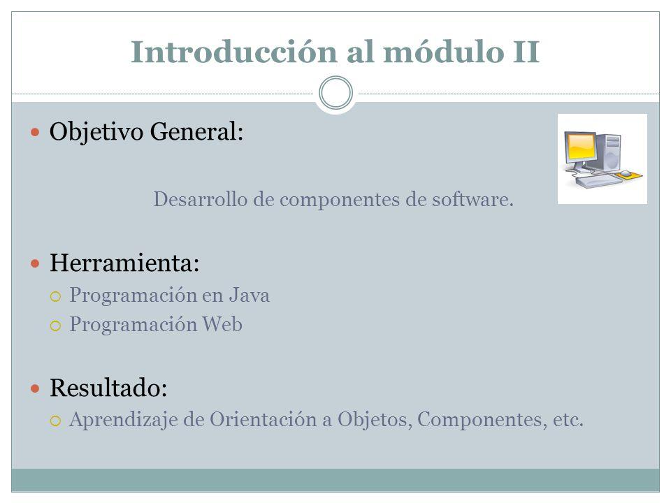 Introducción al módulo II