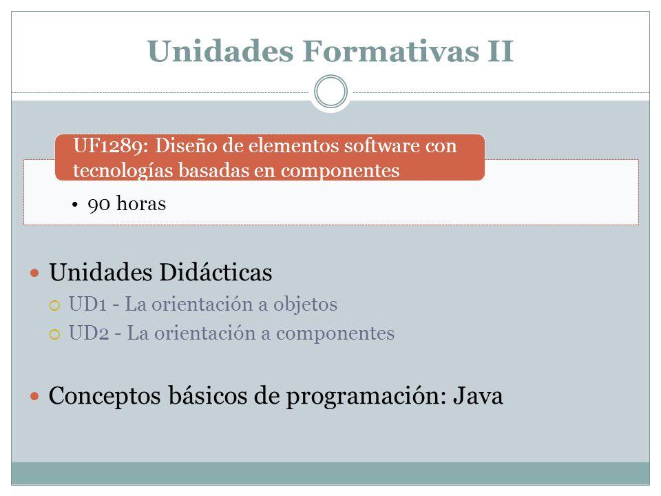 Unidades Formativas II