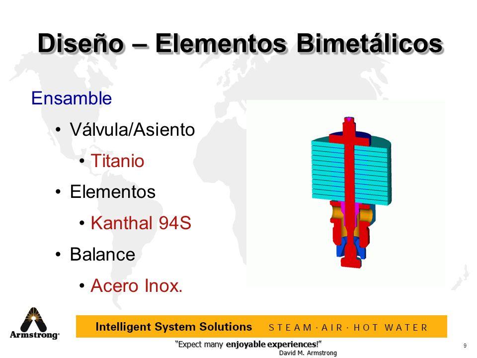 Diseño – Elementos Bimetálicos