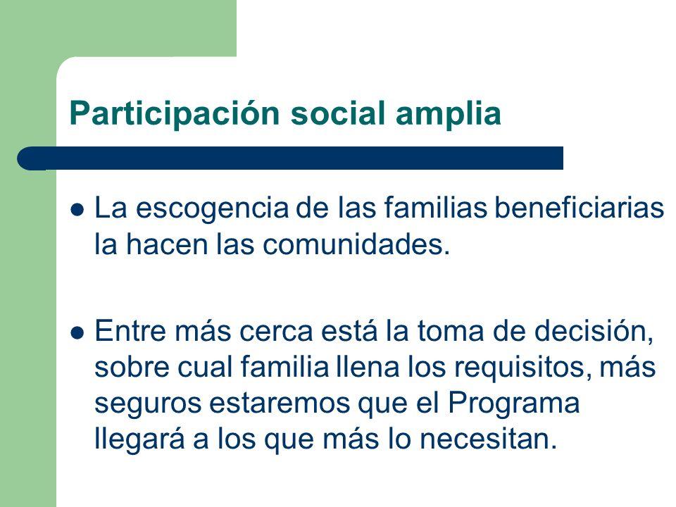 Participación social amplia