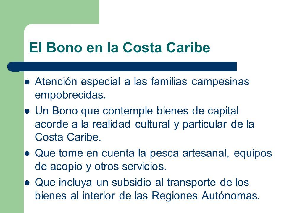 El Bono en la Costa Caribe