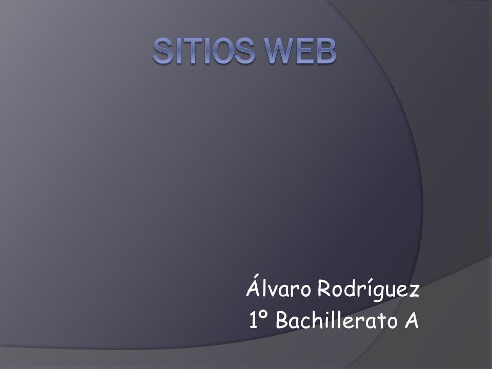 Álvaro Rodríguez 1º Bachillerato A