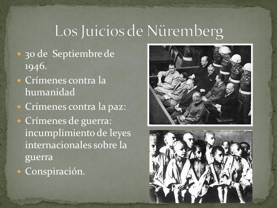 Los Juicios de Nüremberg