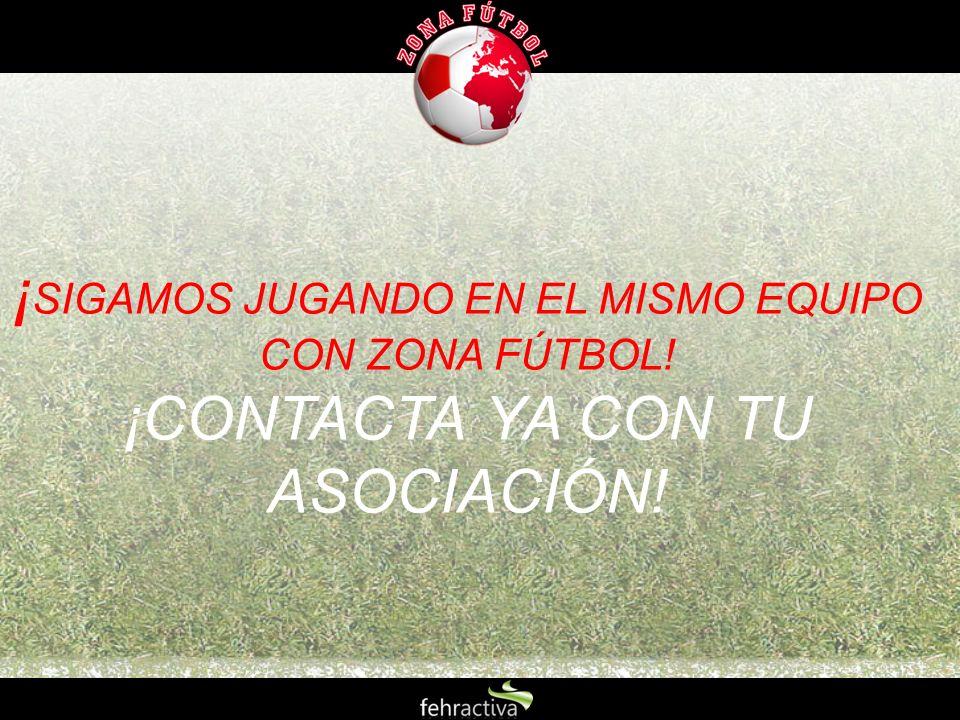 ¡SIGAMOS JUGANDO EN EL MISMO EQUIPO CON ZONA FÚTBOL!