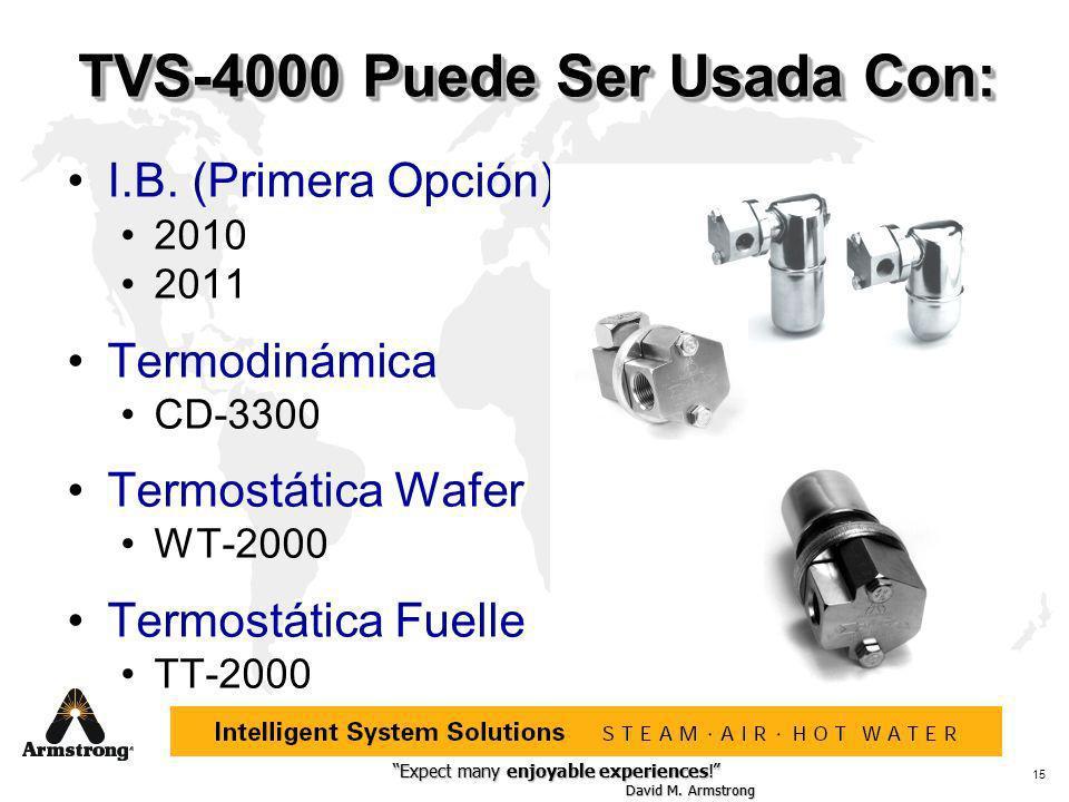 TVS-4000 Puede Ser Usada Con: