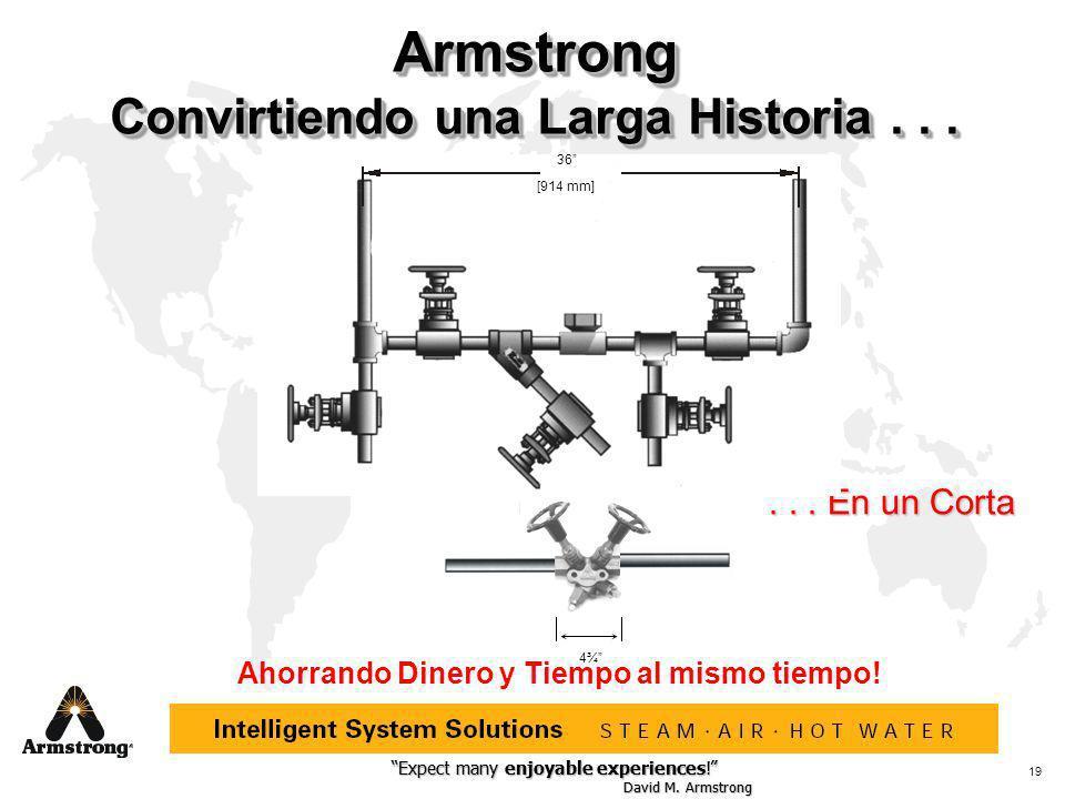 Armstrong Convirtiendo una Larga Historia . . .